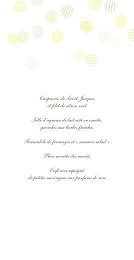 Menu de mariage Polka kraft - Page 3