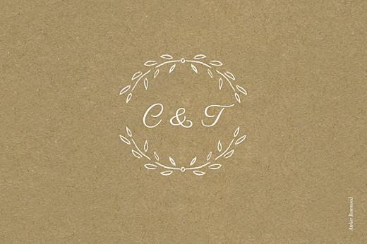 Marque-table mariage Poème kraft - Page 2
