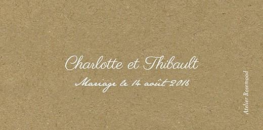 Marque-place mariage Poème kraft - Page 3
