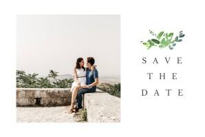 Save the Date Canopée vert