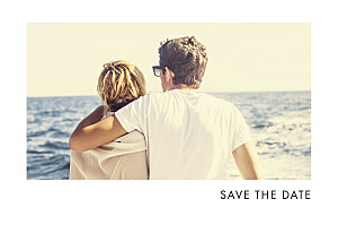 Save the date vert étincelles (dorure) vert