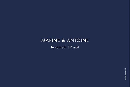 Marque-table mariage Étincelles (dorure) bleu marine - Page 2