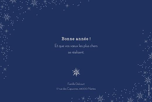 Carte de voeux Merveilles d'hiver paysage bleu - Page 2