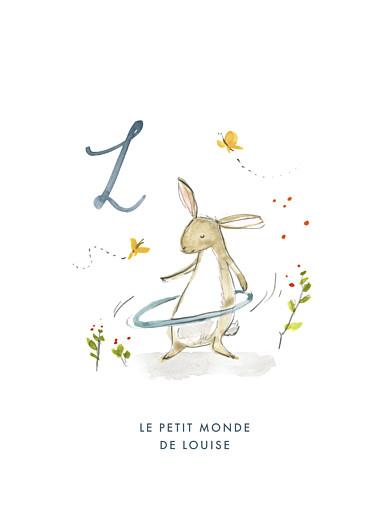Affiche Abc… lapin bleu - Page 1