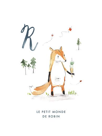 Affiche Abc… renard bleu - Page 1