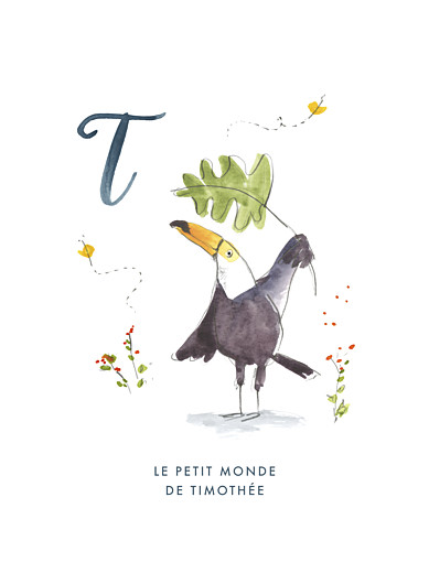 Affiche Abc… toucan bleu - Page 1