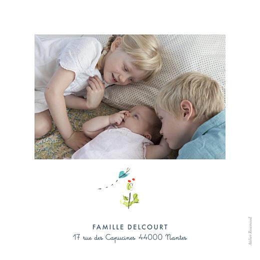 Faire-part de naissance Abc... clémentine blanc - Page 4