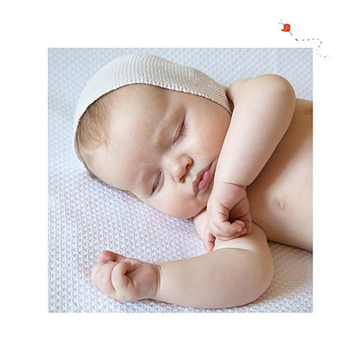 Faire-part de naissance Abc... soleil blanc