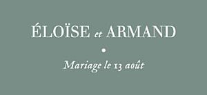 Etiquette de mariage Nature chic vert