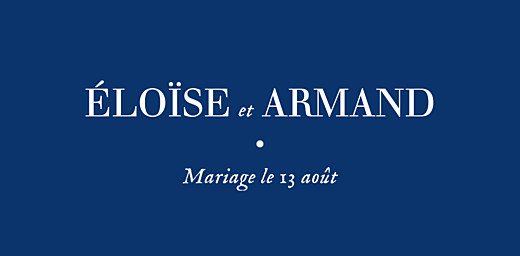 Marque-place mariage Nature chic bleu - Page 4