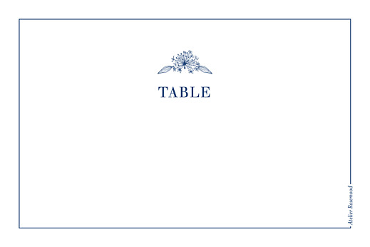 Marque-table mariage Nature chic bleu - Page 2