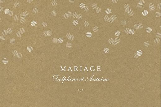 Marque-table mariage Polka kraft - Page 2