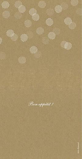 Menu de mariage Polka kraft - Page 4