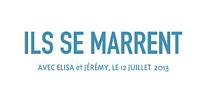 Etiquette de mariage Marrons-nous bleu fonce