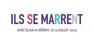 Etiquette de mariage violet marrons-nous violet