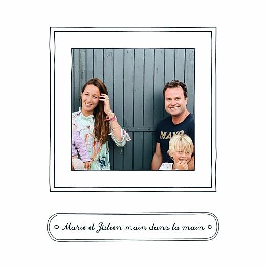 Carte de voeux Portraits de famille bleu - Page 2