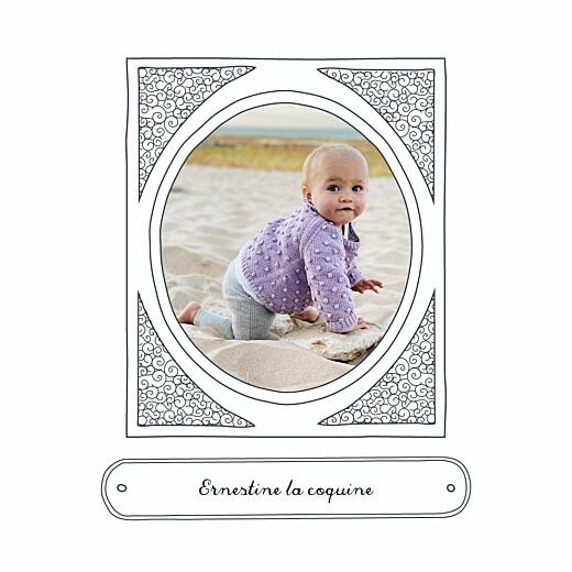 Carte de voeux Portraits de famille bleu - Page 4