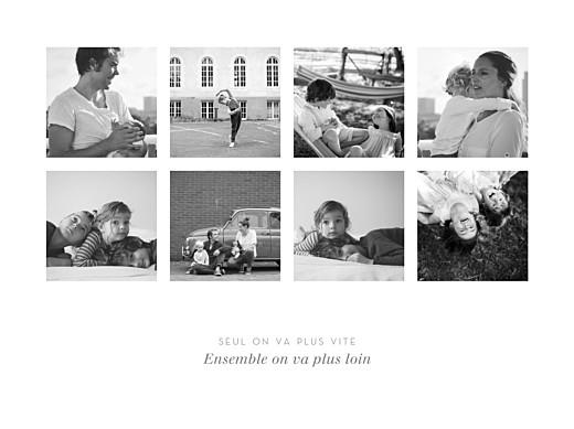Affiche Souvenir 8 photos paysage blanc - Page 1