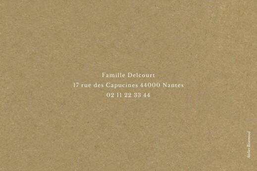 Carte de voeux Petit poème paysage 2 photos kraft - Page 4