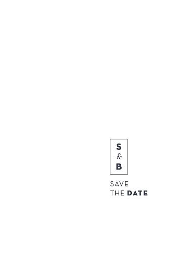 Save the Date Laure de sagazan (dorure) blanc