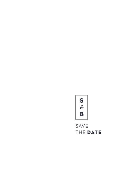 Save the Date Laure de sagazan (dorure) blanc finition