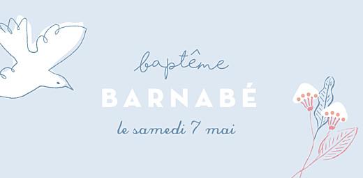 Marque-place Baptême Allégresse bleu - Page 4