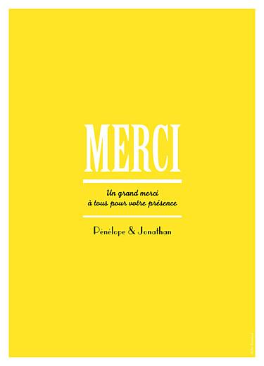 Livret de messe mariage Un grand oui ! jaune - Page 4