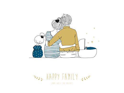 Affiche Lovely family 2 enfants (baby) garçon - Page 1