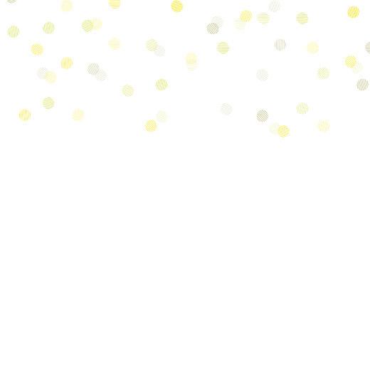 Faire-part de mariage Polka (dorure) blanc - Page 2