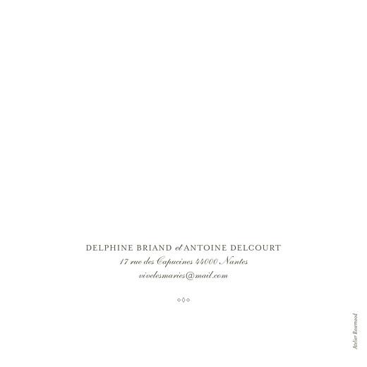 Faire-part de mariage Polka (dorure) blanc - Page 4