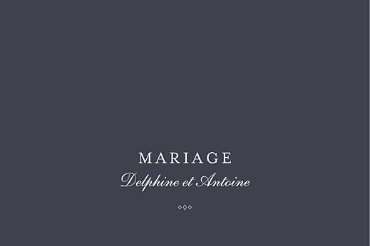 Marque-table mariage Polka (dorure) encre