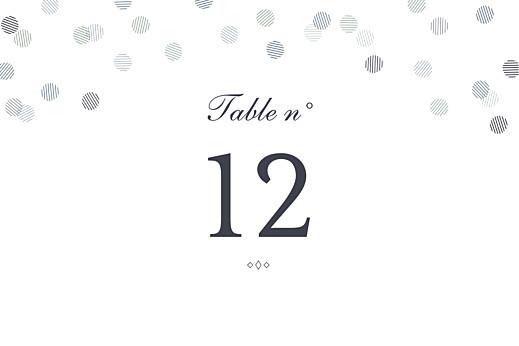 Marque-table mariage Polka (dorure) encre - Page 2