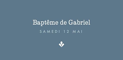 Marque-place Baptême Croix folk bleu - Page 4