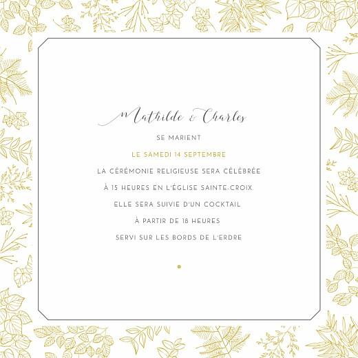 Faire-part de mariage Délicatesse jaune - Page 3