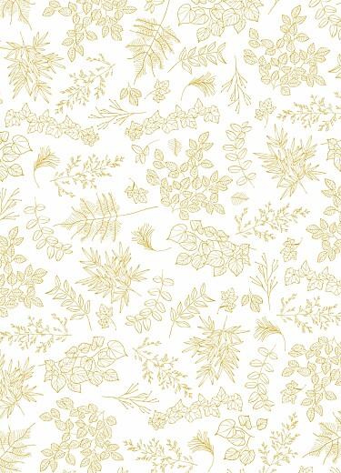 Livret de messe mariage Délicatesse jaune - Page 3