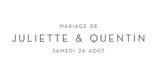Marque-place mariage Élégant cœur blanc - Page 4