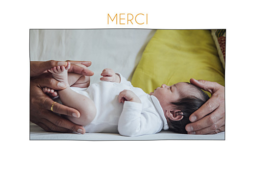 Carte de remerciement Promesse champêtre photo blanc - Page 2