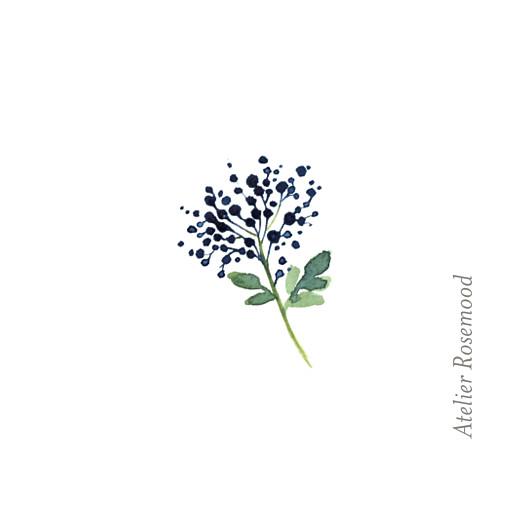 Etiquette perforée mariage Fleurs aquarelle crème - Page 2