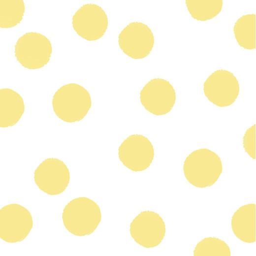 Carte d'invitation anniversaire adulte Big dots jaune - Page 2