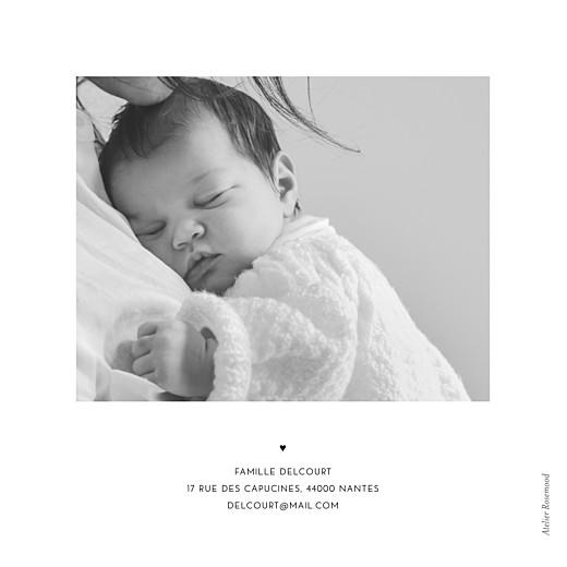 Faire-part de naissance Grand jour blanc - Page 2
