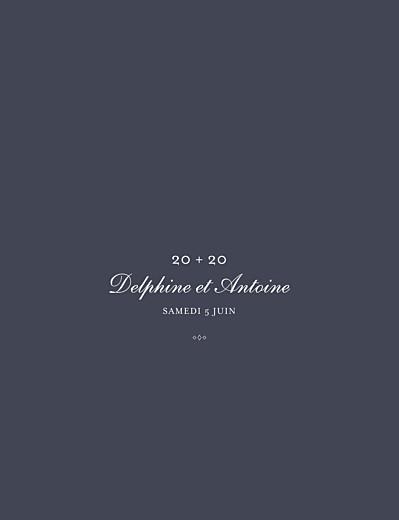 Carte d'invitation anniversaire adulte Polka dots (dorure) encre