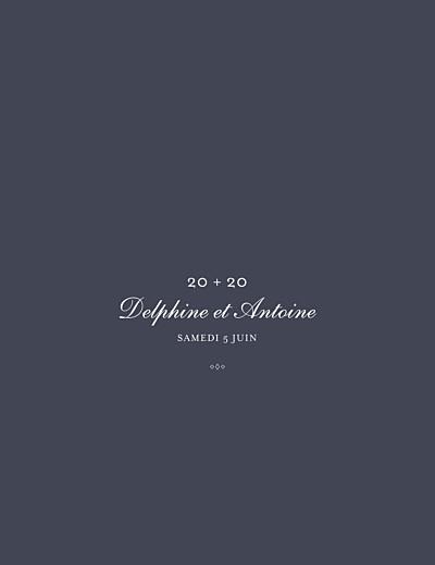 Carte d'invitation anniversaire adulte Polka dots (dorure) encre finition