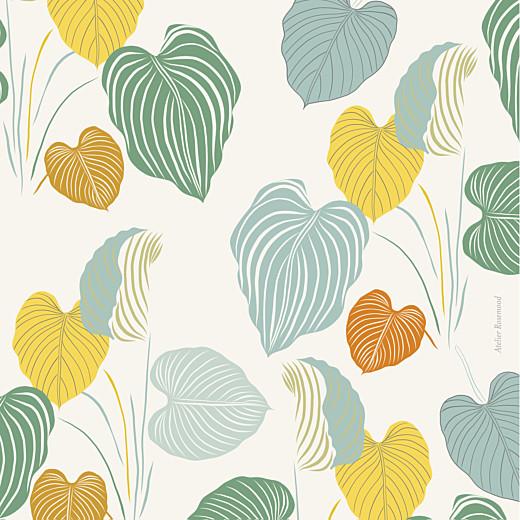 Faire-part de naissance Jardin exotique beige - Page 4