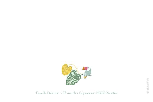 Carte de correspondance Jardin exotique beige - Page 2