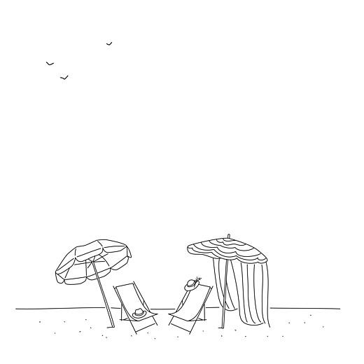 Carte de remerciement mariage Promesse sur le sable (4 pages) blanc - Page 2