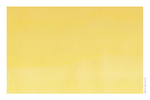 Carte de correspondance Aquarelle jaune - Page 2