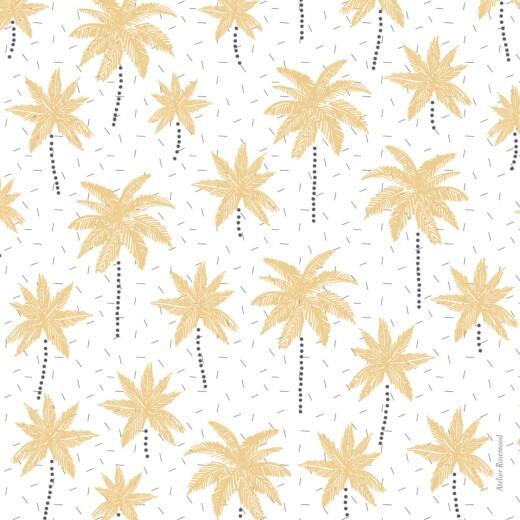 Faire-part de naissance Palmiers jaune - Page 4