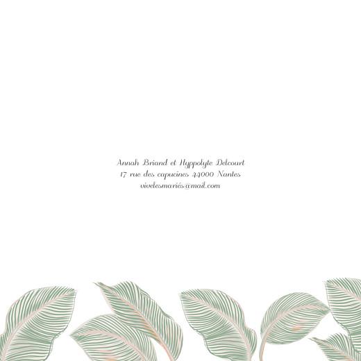 Faire-part de mariage Equateur 4 pages vert - Page 2