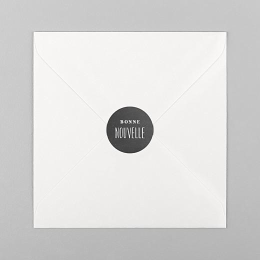 Stickers Naissance Ardoise noir - Vue 1