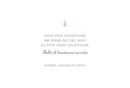 Carte de voeux Village d'hiver (dorure) rose - Page 3